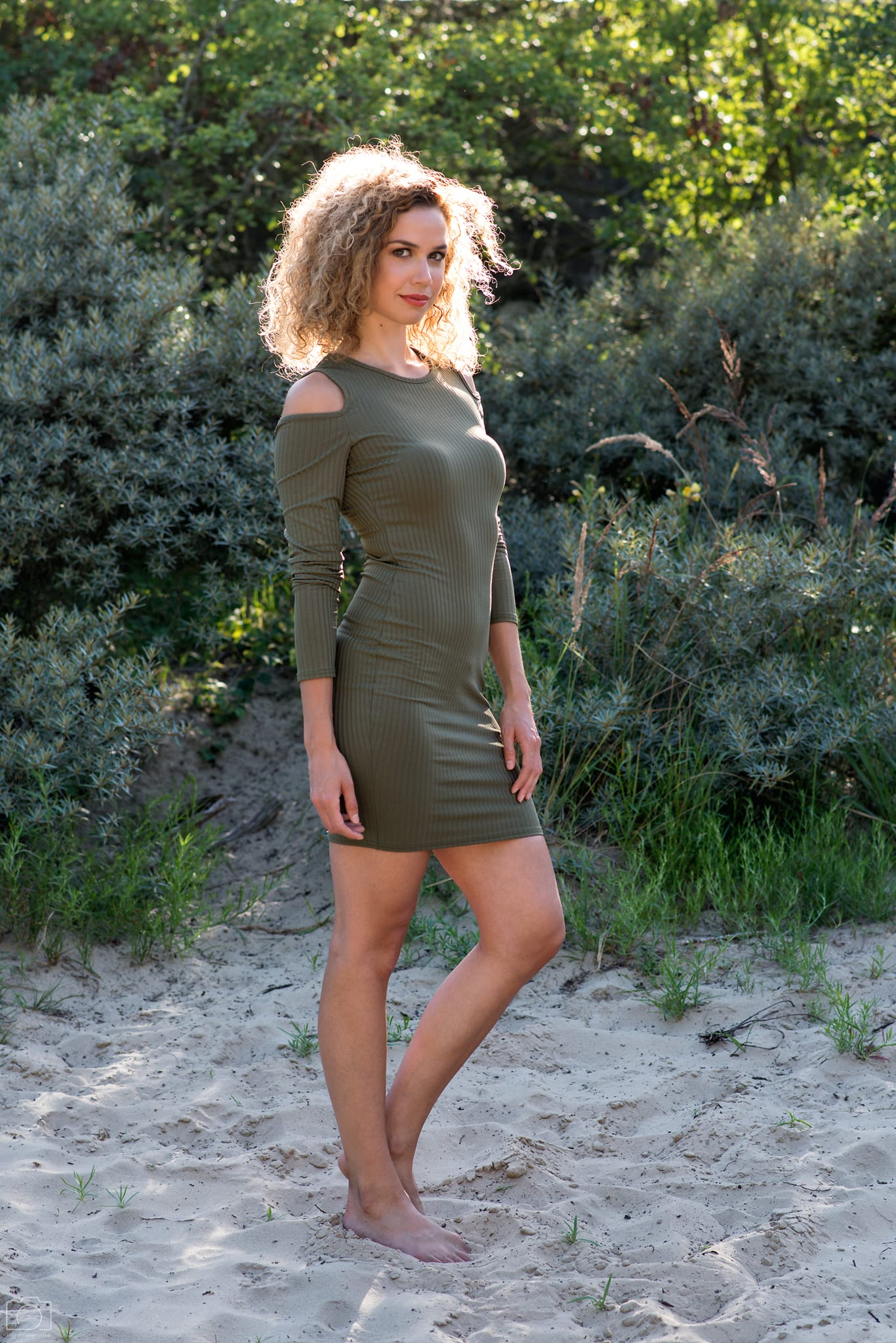 Alice green dress